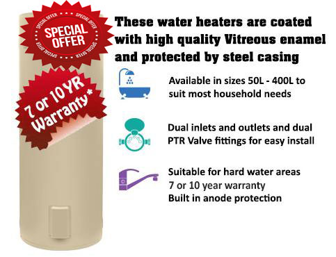 Hot water system installation sunshine coast